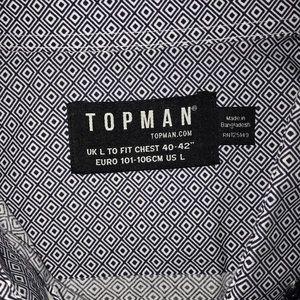 TOPMAN Button-Down Shirt
